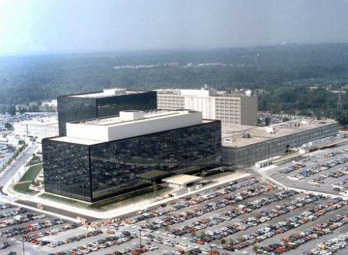 The National Security Agency (NSA) is pictured at Fort Meade, Maryland., on  25 January, 2006