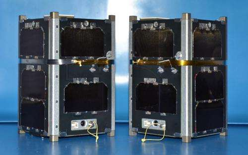 UNH scientists launch 'CubeSats' into radiation belts