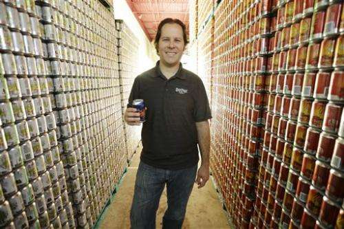 With some tweaks, cans make comeback in craft beer