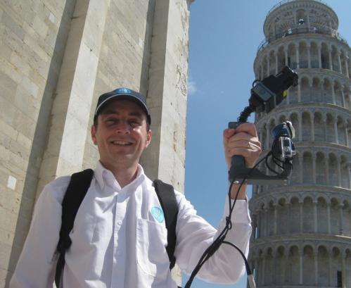 3D mapping is a 'Pisa' cake for Aussie scientists