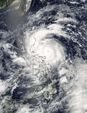NASA satellites capture Super-Typhoon Utor before and after landfall