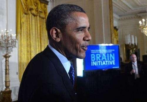 US President Barack Obama is pictured April 2, 2013 in Washington