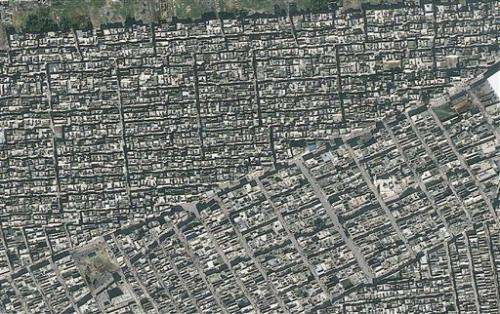 Amnesty: Satellite images show Aleppo devastation