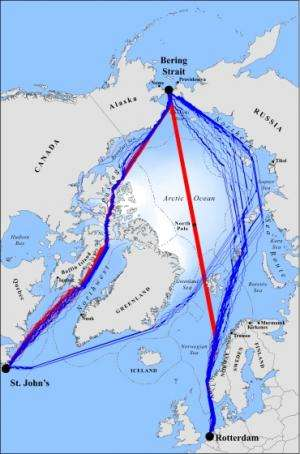 Global warming will open unexpected new shipping routes in Arctic, UCLA researchers find