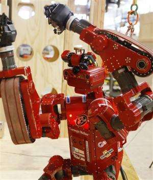 Maybe not sci-fi, but robots readied for big tests