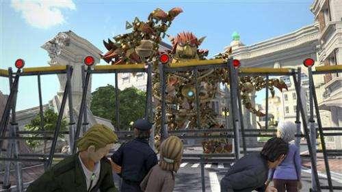 Metamorphosing beast center-stage in Sony game