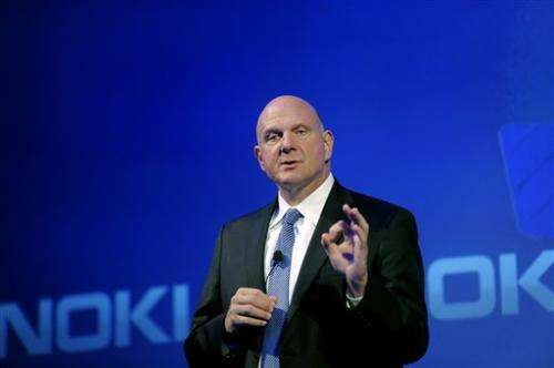 Nokia stock surges on Microsoft takeover