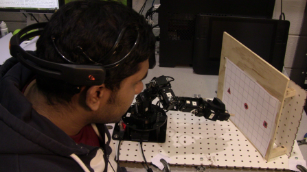 Researchers study how to use mind-controlled robots in manufacturing, medicine