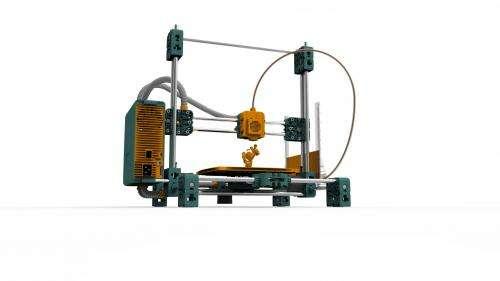 3D printer wows world's top high-tech fair