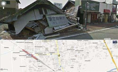 Google adds street views inside Japan nuclear zone