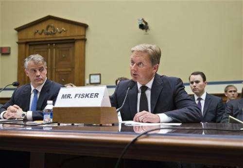 Obama administration missed clues on Fisker