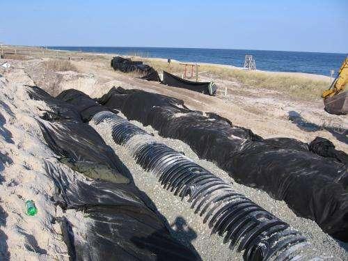 Researchers devise hidden dune filters to treat coastal stormwater runoff