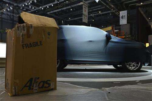 European carmakers to get serious at Geneva show