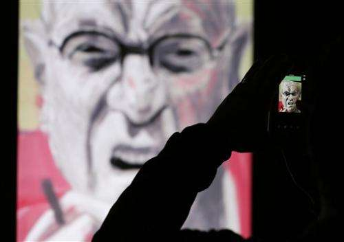 iPad art gains recognition in new Hockney exhibit