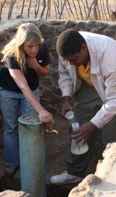 Study provides data to focus diarrheal disease response in remote, resource-strapped area of Africa