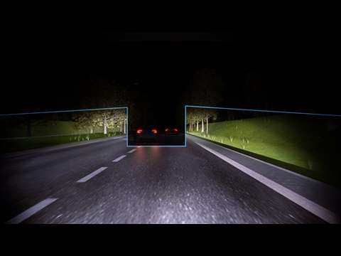 Volvo Cars makes driving at night safer and more comfortable with innovative, permanent high beam