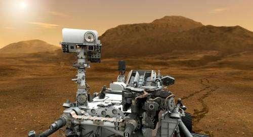Computer swap on Curiosity rover
