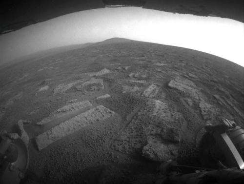 Mars rover Opportunity passes half-way point to next destination