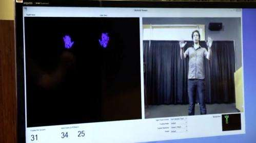 Microsoft hand research ripens Kinect for work