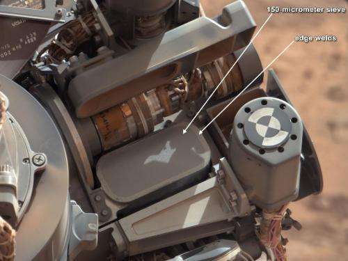 Curiosity rover confirms first drilled Mars rock sample