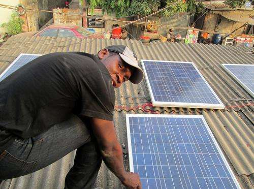 Power to the people: Student devotes energy to his fellow Nigerians