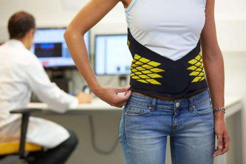 A belt to prevent and rehabilitate lower back pain problems is launched