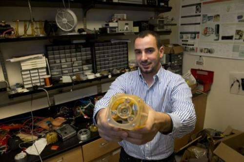 A better motor for the Mars Rover