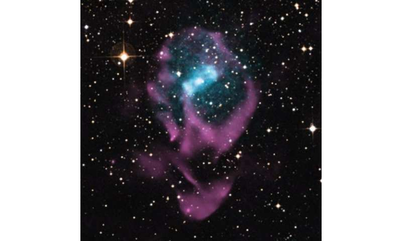A blast from its past dates the youngest neutron-star binary