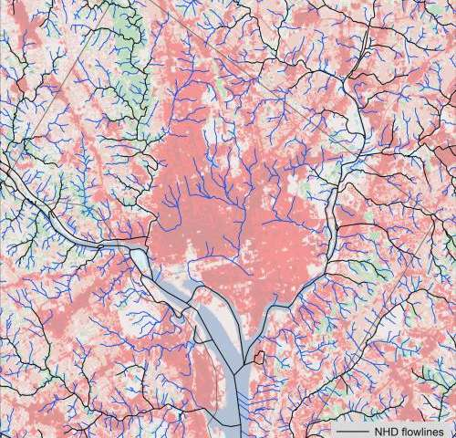 Accurate maps of streams could aid in more sustainable development of Potomac River watershed