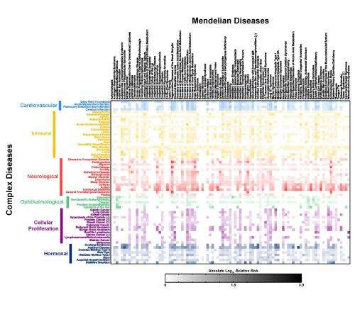 A genetic map for complex diseases