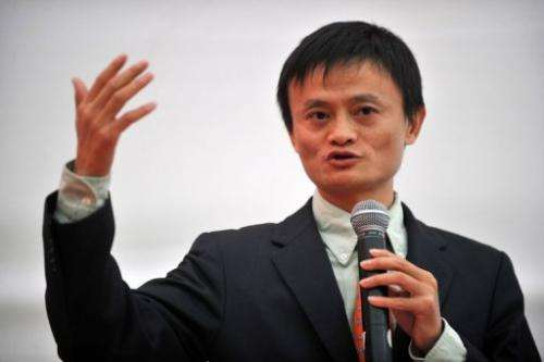 Alibaba.com founder Jack Ma is shown in Lima, in 2008