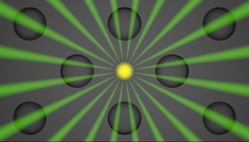 Altering organic molecules' interaction with light