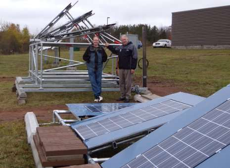 Amping up solar in the snowy north