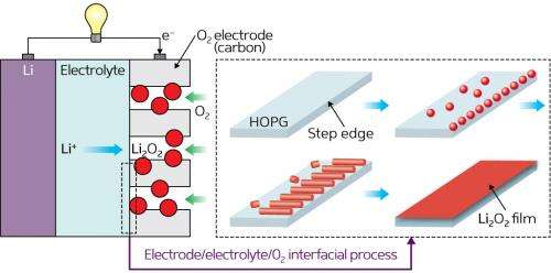 A nanoscale glimpse of batteries in action