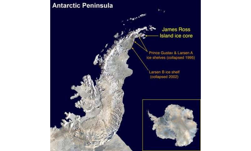 New insight into accelerating summer ice melt on the Antarctic Peninsula