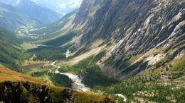 A remote Swiss valley models global climate