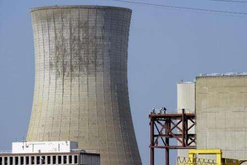 Areva's Tricastin nuclear power plant in Pierrelatte, north of Marseille on July 15, 2013