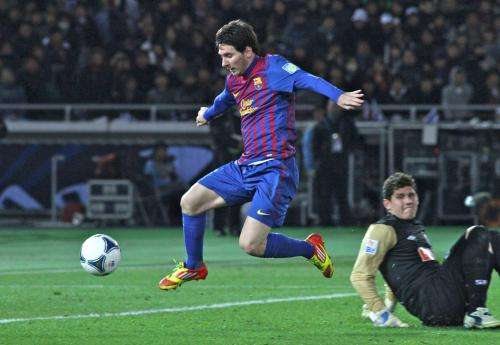 A statistical model predicts the number of goals for each footballer