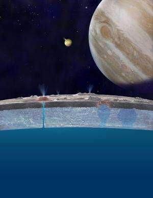 Astronomers open window into Europa's ocean