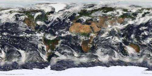 A Terra Satellite image of the Earth