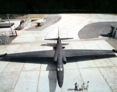 A US-made U-2 spy plane