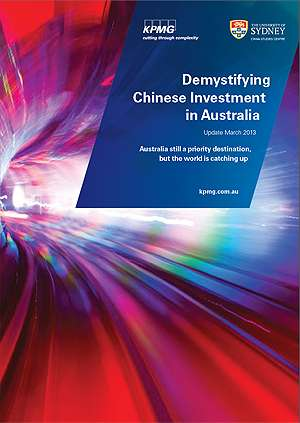 Australia remains favoured destination for Chinese investment, but faces growing competition