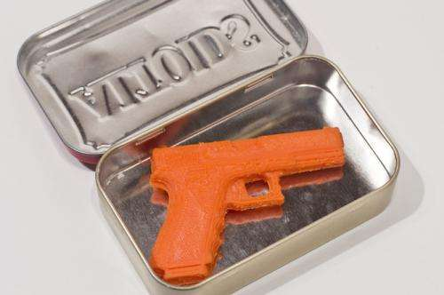 A violent debate: Could guns be made at home by 3-D printers?