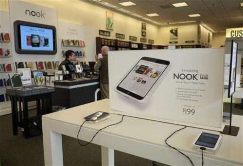 B&N to add Google Play app store to its Nook HD