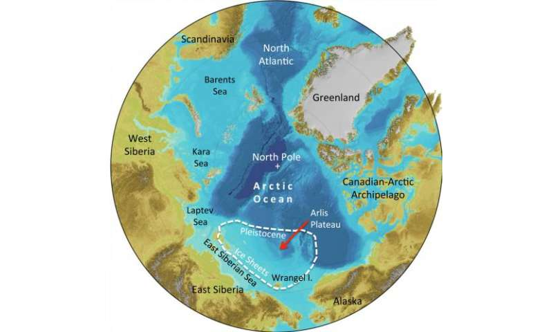 Traces of immense prehistoric ice sheets