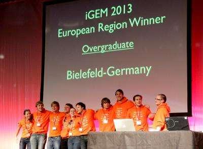 Bielefeld iGEM team wins European preliminary round