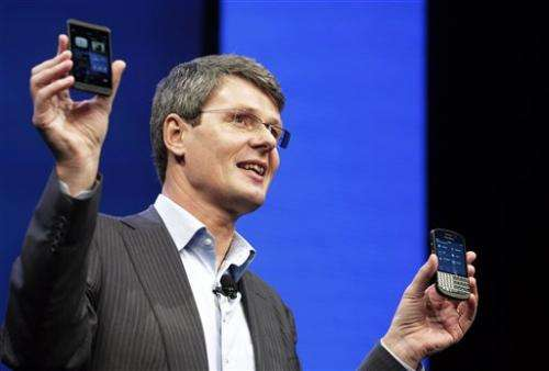 BlackBerry launches long-awaited comeback campaign