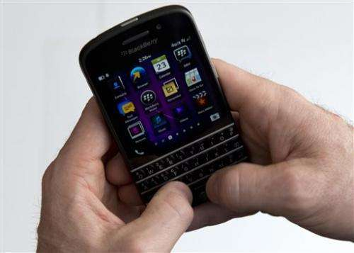BlackBerry posts 3Q loss of $4.4B