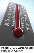 Blistering heat sears western U.S.