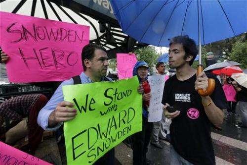 Booz Allen says it's fired Snowden after leak